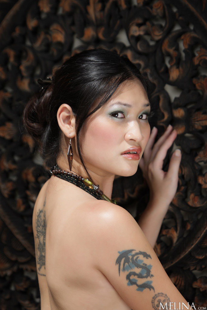 Asian Babes Db  Naked Chinese Girl With Tattoos-3823